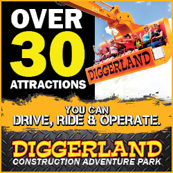 Diggerland Attractions in New Jersey