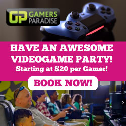 Gamer's Paradise Party Place Union County NJ