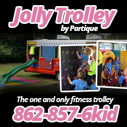 Jolly Trolley by Partique Birthday Parties in NJ