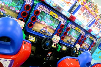 Image of arcade games showing a fun thing to do with kids in NJ